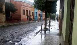 Uruburetama - Uruburetama-CE-Rua central-Foto:Prof.Castro