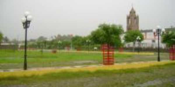 dia chuvoso, Igreja Matriz, Por Antônio