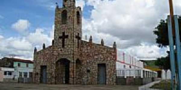 Igreja de N.Sra.do Livramento em Uruoca-Foto:Francisco Edson Mend…