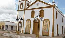 Vazantes - Vazantes-CE-Igreja Matriz depois da reforma-Foto:JOÃO ARTUR