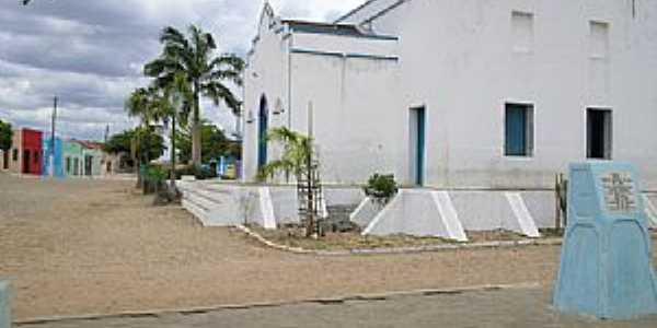 Vazantes-CE-Igreja Matriz-Foto:JOÃO ARTUR