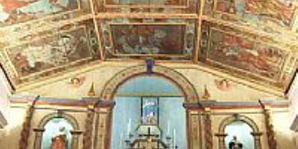 Viçosa do Ceará-CE-Interior da Igreja Matriz-Foto:Vandi Jr.