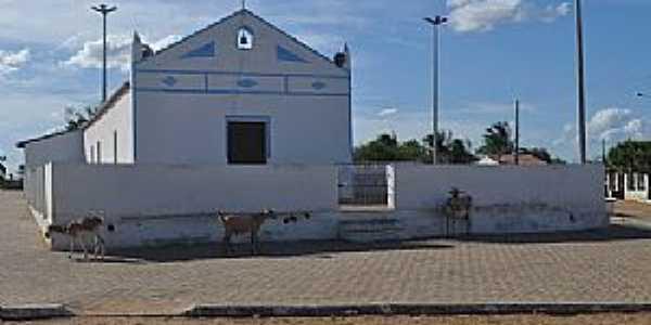 Vila Soares-CE-Capela da Vila-Foto:Josué R. Guimarães