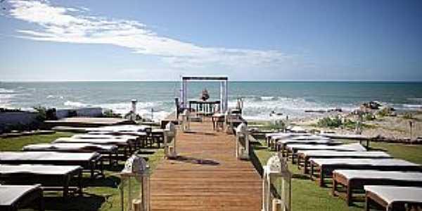 Vila Soares-CE-Cenário de casamento na praia-Foto:Facebook