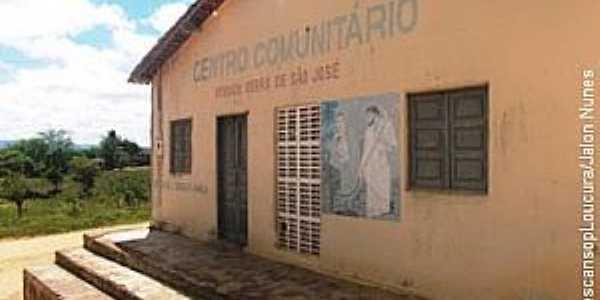 Serra de São José-AL-Centro Comunitário-Foto:descansoploucura.blogspot.com.br
