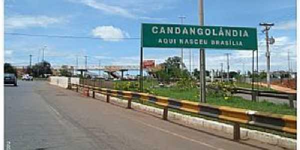 Candangolândia-DF-Entrada da cidade-Foto:Herlanio Evangelista