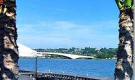 Lago Sul - Lago Sul-DF-Pequeno Cais no Pontão-Foto:Rubens Craveiro
