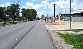 Taboleiro do Pinto - Avenida em Taboleiro do Pinto-AL-Foto:tribunauniao