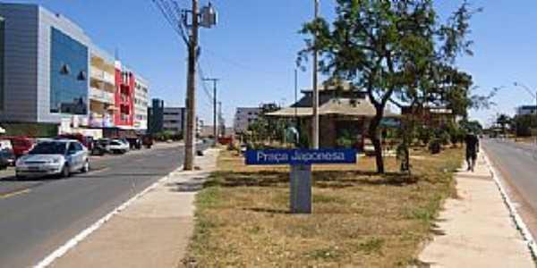 Riacho Fundo I-DF-Praça Japosesa-Foto:haznobe