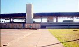 Samambaia - Samambaia-DF-Estação do Metrô-Foto:helio antunes