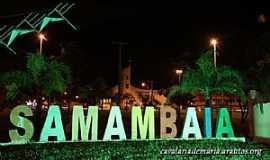 Samambaia - Samambaia-DF-Pórtico da cidade-Foto:cavalariademaria.org