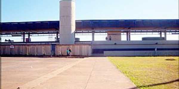 Samambaia-DF-Estação do Metrô-Foto:helio antunes