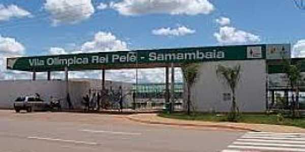 Samambaia-DF-Vila Olímpica Rei Pelé-Foto:carlossam.blogspot.com