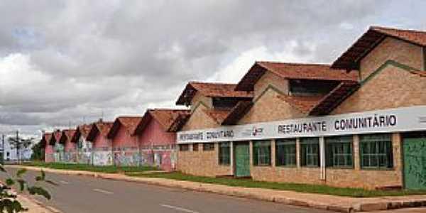 Santa Maria-DF-Restaurante Comunitário Rorizão-Foto:Josue Marinho