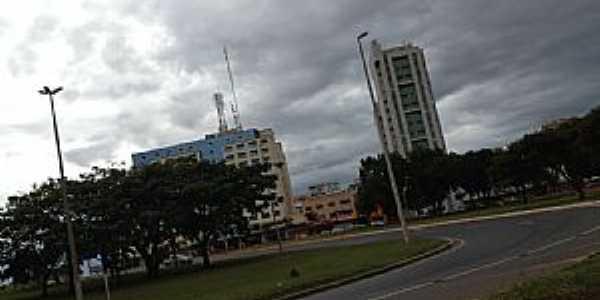 Taguatinga-DF-Centro da cidade-Foto:Ded� de Z� Luca
