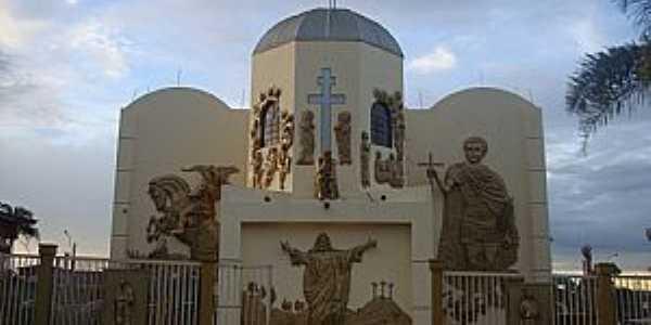 Taguatinga-DF-Paróquia Ortodoxa de São Jorge e Santo Expedito-Foto:revistaculturaemfoco.com.br