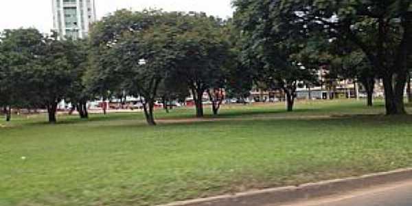 Taguatinga-DF-Pra�a no centro-Foto:Ded� de Z� Luca
