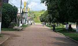 Santa Rosa - Avenida em Santa Rosa do Purus-Foto:JEZAFLU=ACRE=BRASIL