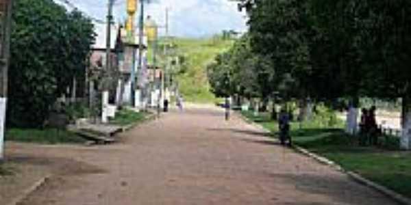 Avenida em Santa Rosa do Purus-Foto:JEZAFLU=ACRE=BRASIL