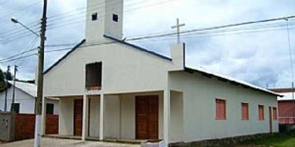 Santa Rosa do Purus-AC-Igreja Matriz-Foto:www.santarosadopurus.