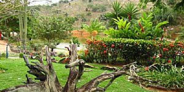 Águia Branca-ES-Jardim no Parque Municipal Recanto do Jacaré-Foto:Erick Aniszewski