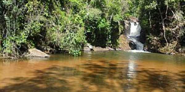 Alfredo Chaves-ES-Cachoeira do Darós no Distrito de Carolina-Foto:Sergio Falcetti