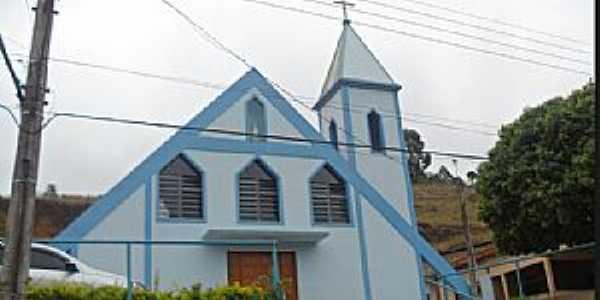 Alto Caldeirão-ES-Igreja de Santa Maria das Graças-Foto:mapio.net