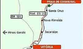 Aracruz - Mapa