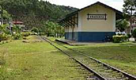 Araguaia - Estação Ferroviária Araguaya em Araguaia, por Armin-Miertschink.