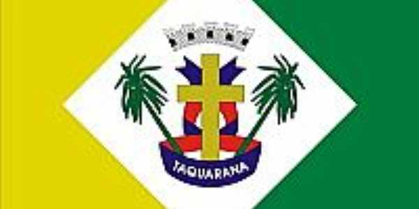 Bandeira da cidade de Taquarana-AL
