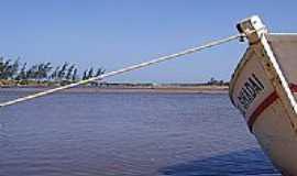 Barra Nova - Esperando a maré na praia em Barra Nova-Foto:Elias de Oliveira