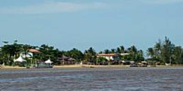 Barra Nova-ES-Chegada pelo Rio Mariricu-Foto:DeMar
