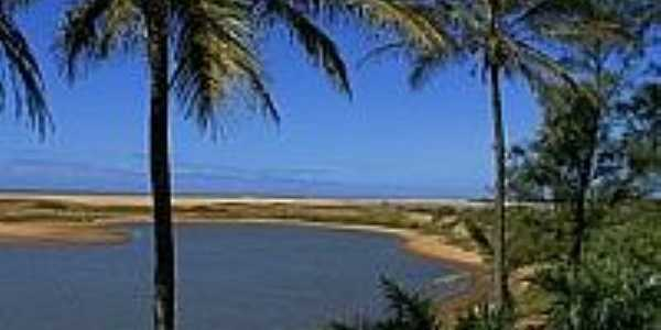 Barra Nova-ES-Vista da Praia de  Barra Nova-Foto:Antonio Cosme