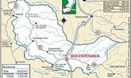 Boa Esperan�a - Mapa de localiza��o