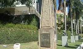 Cachoeiro de Itapemirim - Monumento em homenagem aos ex Combatentes da 2� Guerra Mundial em Cachoeiro de Itapemirim-ES-Foto:Ricardo Louzada