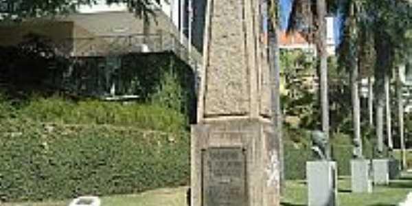 Monumento em homenagem aos ex Combatentes da 2ª Guerra Mundial em Cachoeiro de Itapemirim-ES-Foto:Ricardo Louzada