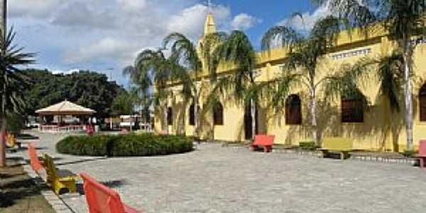 Teot�nio Vilela-AL-P�tio da Matriz de N.Sra.de Guadalupe-Foto:ROG�RIO SANTOS