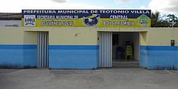 Teotônio Vilela-AL-Secretaria de Assistência Social-Foto:ROGÉRIO SANTOS