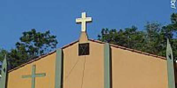 Cariacica-ES-Igreja Católica em Porto Cariacica-Foto:Sergio Falcetti