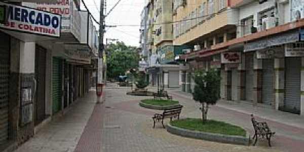 Colatina-ES-Calçadão no centro da cidade-Foto:Fabio Arrebola