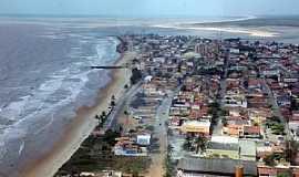 Conceição da Barra - Conceição da Barra-ES-Vista aérea da cidade-Foto:Thiago MTB