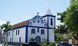 Concei��o da Barra - Igreja hist�rica em Concei��o da Barra-Foto:Elp�dio Justino de A�