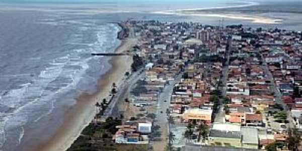 Conceição da Barra-ES-Vista aérea da cidade-Foto:Thiago MTB