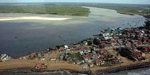 Concei��o da Barra-ES-Vista a�rea da regi�o-Foto:Thiago MTB