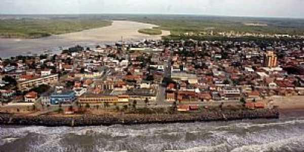 Conceição da Barra-ES-Vista aérea da região-Foto:Thiago MTB