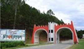 Conceição do Castelo - entrada da cidade BR262 Pórtal, Por Clemildes