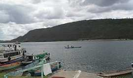 Traipu - Traipu-AL-Rampa e ancoradouro no Rio São Francisco-Foto:Sergio Falcetti