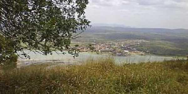 Traipu-AL-Vista do Rio São Francisco e a cidade-Foto:www.irregular.com.br