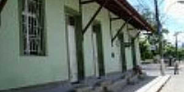 A estação de Conduru-ES reconstruida em 15/11/2005-Foto:Marcos A. Farias