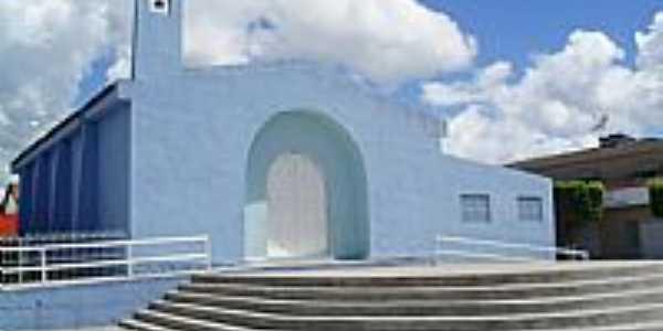 Igreja de N.Sra.de F�tima em Uni�o dos Palmares-Foto:Sergio Falcetti